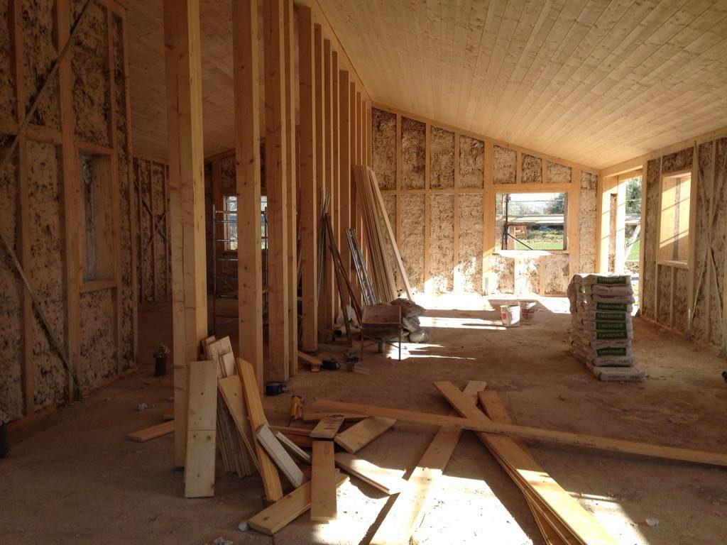 casa in legno macerata